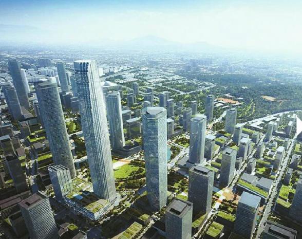 """济南中央商务CBD立体""""城市综合体""""蓬勃成长中"""