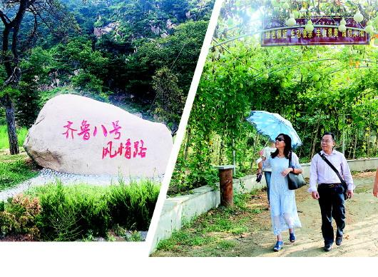 济南长清万德镇:8个小山村抱团振兴乡村旅游