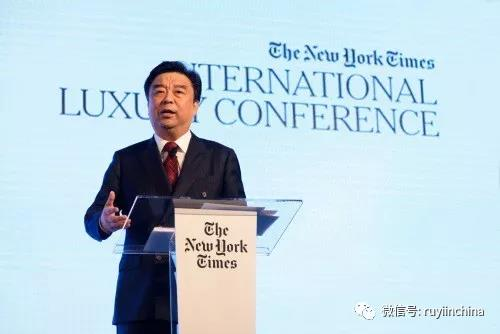 邱亚夫首次作为中国企业家受邀担任《纽约时报》年度时尚奢侈品峰会开幕主题唯一演讲嘉宾
