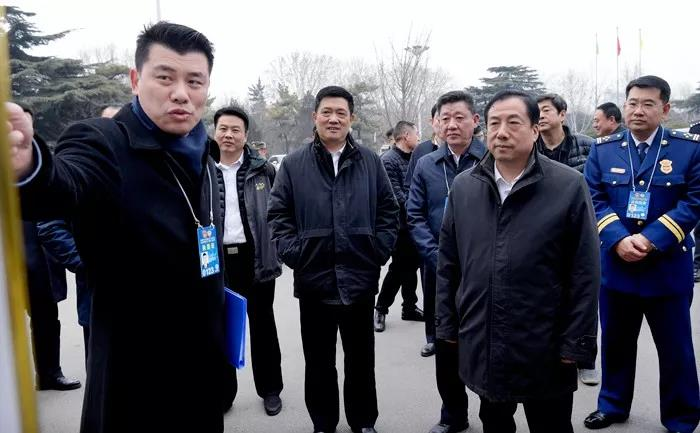 """孙立成实地检查指导省""""两会""""安保工作"""