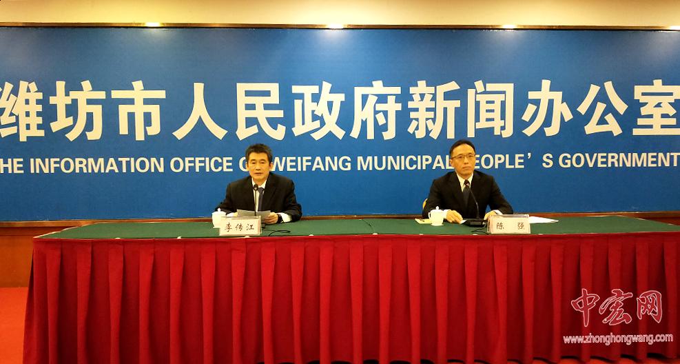 潍坊市确定2019年180个市级重大重点项目 总投资4797亿元