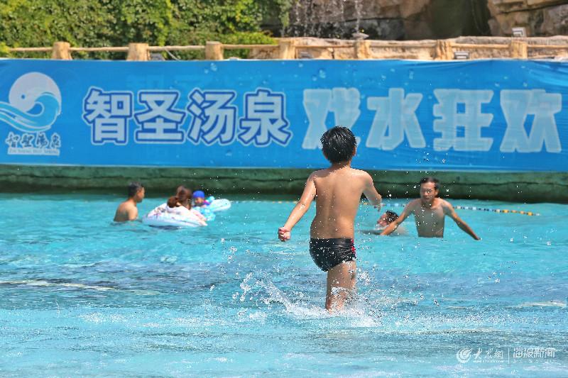 炎炎夏日怎么能少得了水上乐园这股清凉!