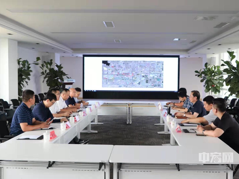 中宏网赴山东东营高新区考察调研并达成合作共识
