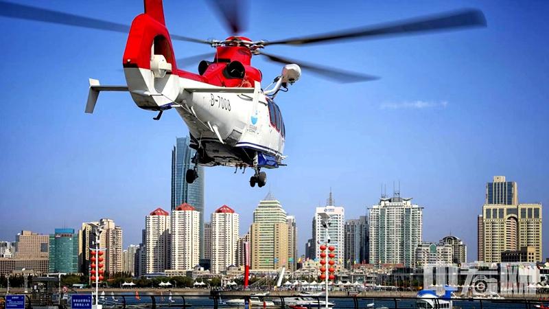 携手开创直升机引航作业发展新局面——中信海直与青岛旅游集团联合举办直升机引航作业研讨会