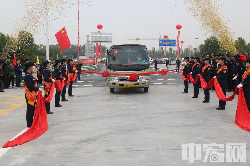 重磅!国高青兰高速东阿至聊城段和泰安至东阿段黄河特大桥正式建成通车