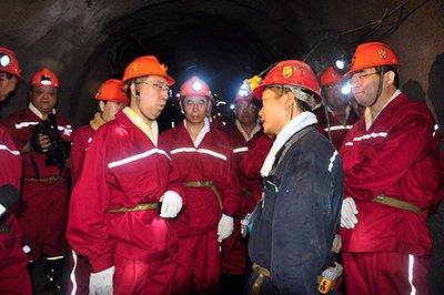 国家煤矿安全监察局顺利完成山东省千米冲击地压矿井专题调研