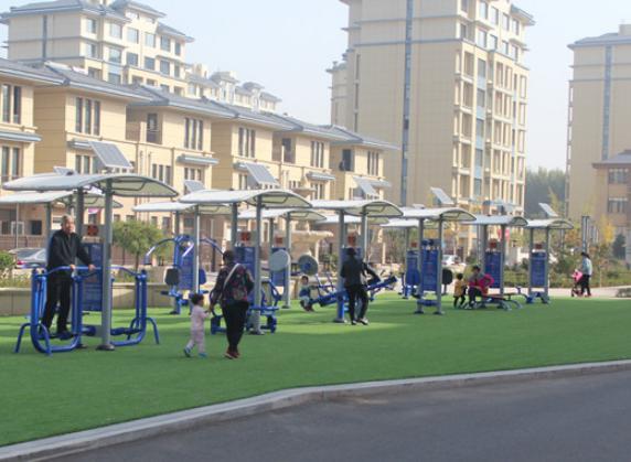 东营试点建设7处智能化体育健身设施
