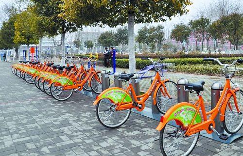 潍坊市区公共自行车免费骑行时间延长
