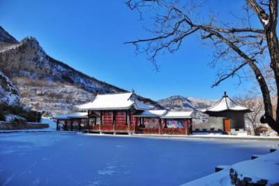 雪后颜值爆表的南山景区,大部分济南人可能没去过