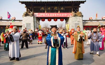 七大亮点助力2020年春节大庙会 东平水浒影视城精心打造大宋不夜城