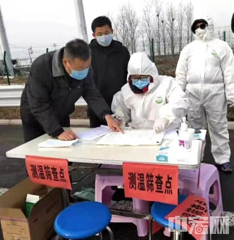 山东昌乐:联防联控新型肺炎疫情