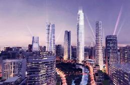 """历下7645家企业已复工,国际金融城""""五指山""""全面提速"""