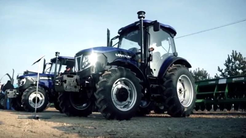 雷沃拖拉机助力哈萨克农业机械化发展