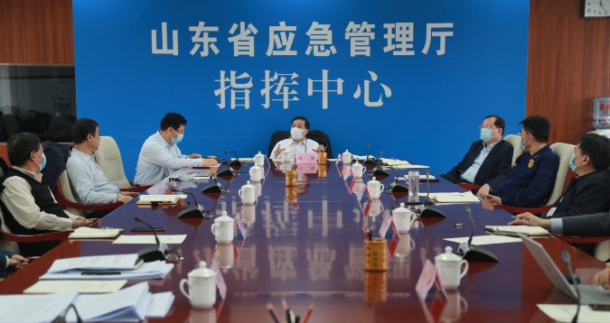 刘强副省长到山东省应急厅调研信息化建设工作