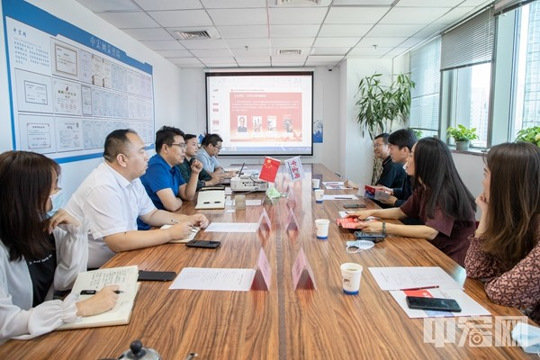 《中国新闻周刊》总编吕振亚一行赴中宏网座谈调研