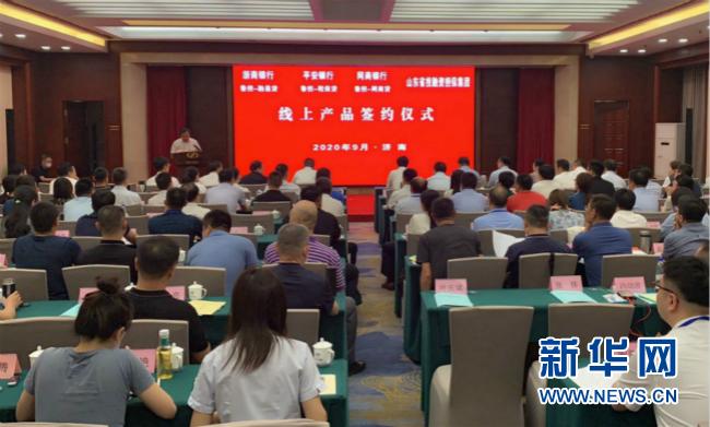 山东省投融资担保集团发布首批银担合作线上产品