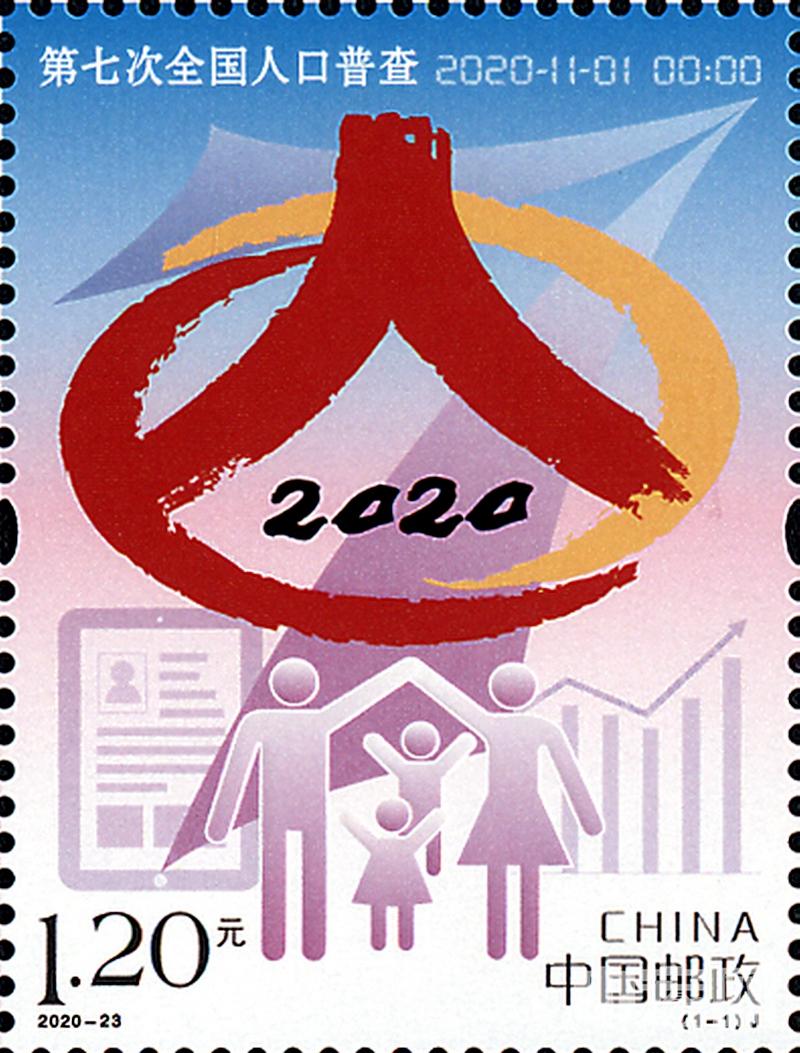 《第七次全国人口普查》纪念邮票.jpg