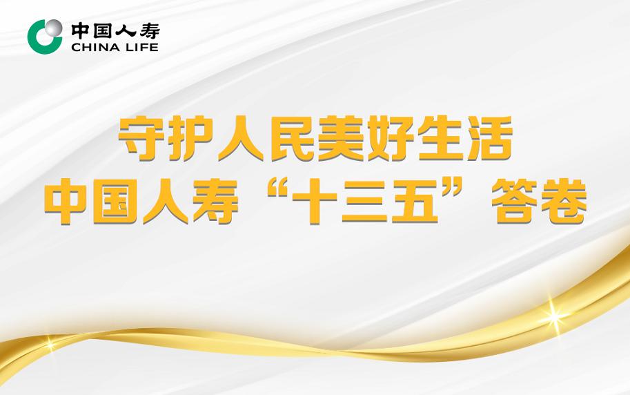 """守护人民美好生活  中国人寿""""十三五""""答卷"""