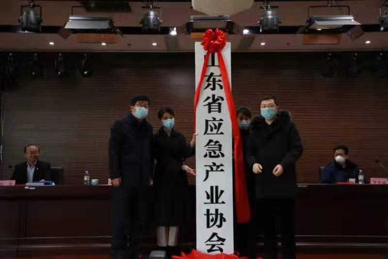 山东省应急产业协会揭牌成立
