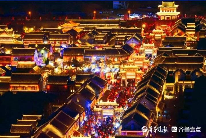 即墨元素过年频登央视!春节黄金周36.5万游客逛古城
