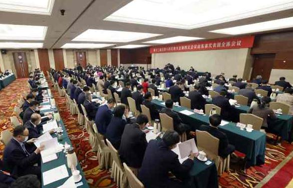 十三届全国人大四次会议山东代表团成立 推选刘家义为团长
