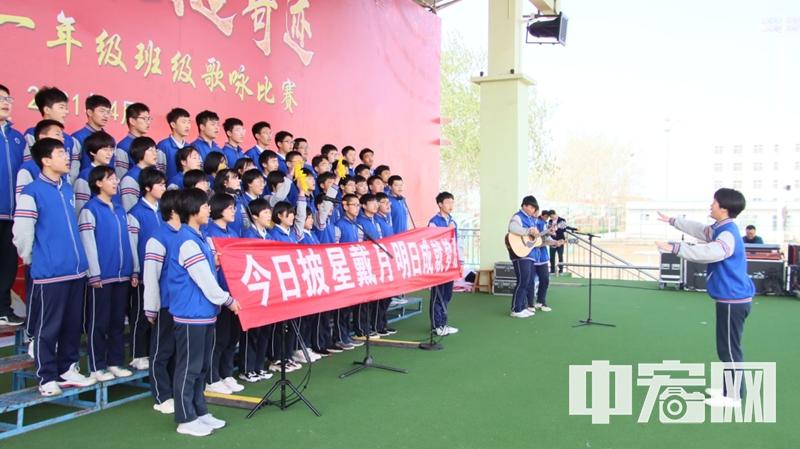 阳信二中学生用歌声真情告白:相信我们会创造奇迹